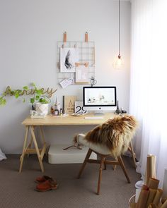 Scandi Style, Scandinavian Style, Decoration, Bright Pink, Home Interior Design, Office Desk, Simple, Instagram Posts, Inspiration
