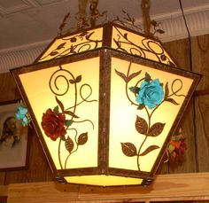 Cherokee Iron Works | Rustic & Western Lighting | Rustic & Western Chandeliers | Rustic & Western Home Decorations - Cherokee Rose