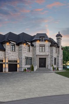 Dream House Interior, Luxury Homes Dream Houses, Dream Home Design, Modern House Design, My Dream Home, Mansion Interior, Dream Homes, Dream Mansion, Dream House Plans