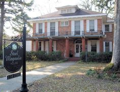 Spend the night at the Steel Magnolias house in Natchitoches, La.