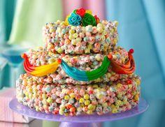Cereal Wedding Cake Recipe   by Betty Crocker Recipes