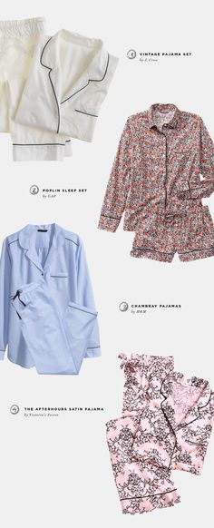 pajama trends, fall trends 2014, cozy and chic pajamas, stylish pajamas, J-Crew vintage pajamas, the Afterhours Satin Pajama, Victoria's Secret, striped nightshirt, GAP pajamas, menswear inspired pajamas, cotton pajamas, cotton Mayfair sleepshirt, Ralph Lauren sleep shirt, matching set pajamas, Poplin sleep set, chambray pajamas, H&M, joggers, Aerie Skinny joggers, American Eagle Outfitters, Target, feather print bottoms, ASOS, French terry sweatpants, Kensie, loungewear, casual wear