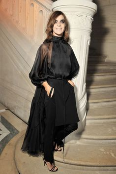 Le Bal hosted by MAC and Carine Roitfeld - Carine Roitfeld in Givenchy