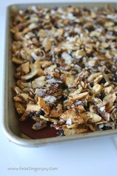 Finding crunchy foods on the AIP diet can be tough. This AIP Baked Apple Cinnamon Granola not only has a powerful crunch but also has loads of flavor! Baked Apples, Cinnamon Apples, Homemade Coconut Yogurt, Paleo Apple Crisp, Snack Recipes, Snacks, Free Recipes, Paleo Recipes, Paleo Breakfast