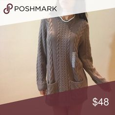"""Brand new jeanne pierre Brand new, size XL , length 31"""" , bust 42"""" Sweaters"""