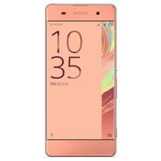 Unlocked Sony Xperia XA F3113 16GB Cell Phone - Rose Gold