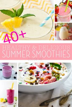 40 Healthy and Delic