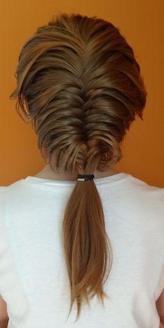Fischschwanz Französisch Braid Frisuren #braid #fischschwanz #franzosisch #frisuren