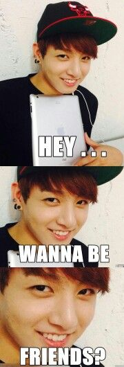 Who the f can be ONLY friends with Jeon effing Jungkook?