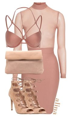 """""""$"""" by alinahartikainen ❤ liked on Polyvore featuring River Island and Office"""