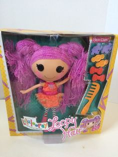 """Lalaloopsy LOOPY HAIR PEANUT BIG TOP - Full Size 13"""" Doll April 1 Birthday *NEW* #DollswithClothingAccessories"""