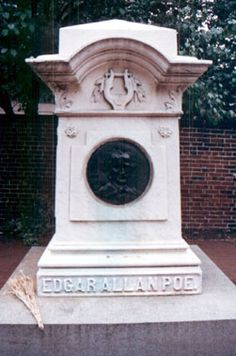 """Edgar Alan Poe ,,,, Current burial site. born Jan 19,1809 died  oct 7,1849 burial in Westminister Burial Ground,Baltimore City ,MD cause of death : """"congestion of the brain """". apopular lore says he died of alcoholism.,though some claim from encephalitis. In 1875 a group of school children donated a gravestone for him."""