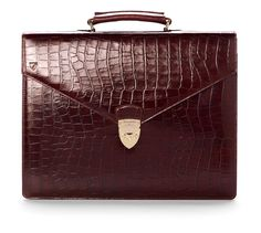 Executive laptop briefcase from Aspinal of London