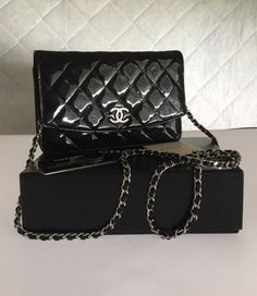 Chanel Quilted Patent Woc Shoulder Bag. Get one of the hottest styles of the season! The Chanel Quilted Patent Woc Shoulder Bag is a top 10 member favorite on Tradesy. Save on yours before they're sold out!