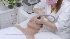 Snow Ice cooled radiofrequency facial treatment machine at home use, can help skin tightening wrinkle acne treatment, allows collagen reproduced in the dermis layer of skin as well as cooled the surface of the epidermis, no reddening, and no sense Tighten Facial Skin, Radio Frequency Skin Tightening, Ice Cooler, Layers Of Skin, Snow And Ice, Facial Treatment, Facial Care, Skin Problems, Anti Wrinkle