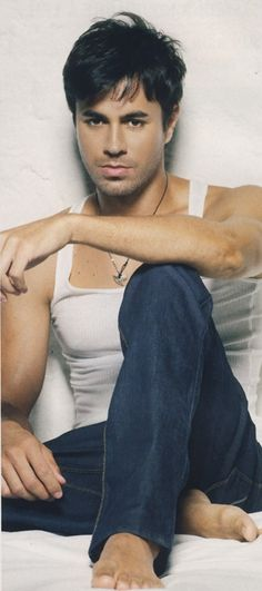 """Enrique Iglesias- - -    Love his song..'When I'm on top of you."""" takes me places.  :-)  ~BL"""