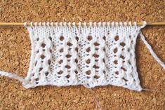 Five Fancy Rib Patterns: Knitted Lace Edition Crochet Stitches Patterns, Knitting Stitches, Stitch Patterns, Knitting Patterns, Lace Knitting, Pattern Making, Homemade Gifts, Knitting Projects, Knit Crochet