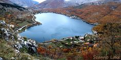 Scanno, Abruzzo Scanno's natural lake Heart Shaped Lake Local legend has it that Scanno's natural lake (Lago di Scanno - stocked with pike and perch and Abruzzo's largest natural basin) was created by a feud between a white witch and a sorcerer; the lake marking the spot where the witch finally fell.