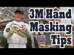 3M hand masker hacks for house painters. Simple tips painting a house for DIY home painters and the experienced painter. The first houses of 2016 for the ext...