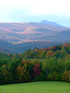 This is Camel's Hump which I hiked in my youth in Vermont