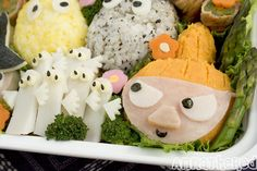 Bento #77: the Moomins bento by AnnaTheRed, via Flickr