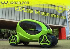 Urban.Pod: A bantam urban vehicle with improved safety and sustainable features