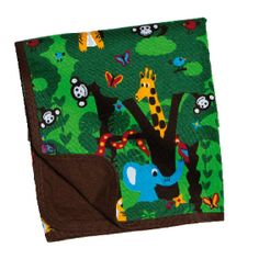 Blanket with jungle