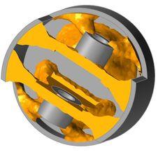 titanium piston - optimized in Inspire