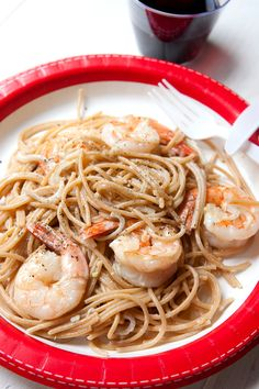 19. Shrimp Scampi for One #healthy #recipes http://greatist.com/health/healthy-single-serving-meals