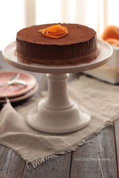 Cheesecake de Chocolate y Naranja - My CuteCakes