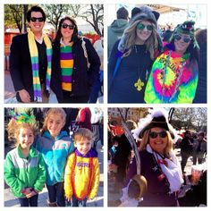 So much creative fashion inspiration during our Lundi Gras party at #RiverwalkNOLA