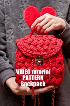 Backpack Zeffirka NEW Large backpack PDF pattern by IlovecreateStore. Boho backpack video tutorial Crochet bag Handbag patterns Crochet handbag PDF pattern. Backpack Zeffirka NEW PDF pattern and complete and detailed video-description of the whole backpack creating process with 3-DC clusters. You need to have at least basic skills of crocheting to understand the process completely. The terms of crocheting are 1-3 days. Crochet T Shirts, Crochet Yarn, Crochet Hooks, Knitting Yarn, Quick Crochet, Crochet Handbags, Crochet Purses, Crochet Backpack Pattern, Mochila Crochet