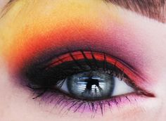 Sailor Moon: Sailor Mars Inspired Eye Makeup