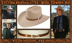 Stetson 4X Justified Style Marshall Givens Hat From Tribal And Western  Impressions -www.indianvillagemall.com 9038d579f8b