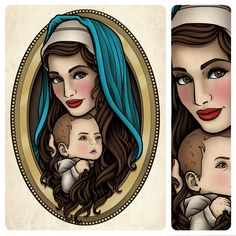Sams Blog: Mother Mary and Baby Jesus