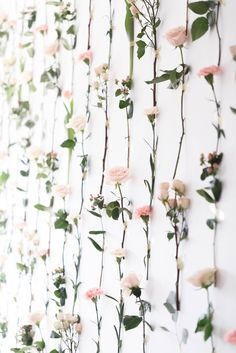 How spectacular is this flower wall by The Proper Petal ! Photo by Virginia Ashley Photography, Design & Styling by The Darling Event, see more on richmondweddingcollective com is part of Flower wall decor - Flower Wall Decor, Flower Decorations, Wedding Decorations, Wall Of Flowers, Cool Wall Decor, Flower Wall Wedding, Flower Wall Backdrop, Wedding Dress, Deco Floral