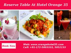 Enjoy Delicious #Food Hotel Orange 35 #Sector35 #Chandigarh Visit:http://www.orangehotel35.com