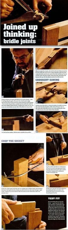 Bridle Joint - Joinery Tips, Jigs and Techniques | WoodArchivist.com