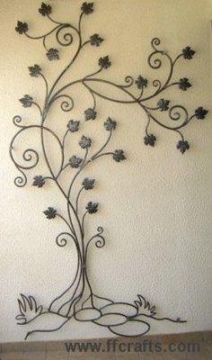 #colgar #hierro tree                                                                                                                                                                                 Más