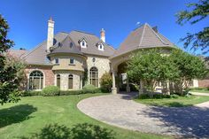 Romanesque Revival Styled Estate in Colleyville, Texas Dream homes, luxury mansions, celebrity homes, ultimate kitchen and bathroom ideas on your computer, IOS and Android #mansion #dreamhome #dream #luxury http://mansion-homes.com/dream/1707-cheek-sparger-road-colleyville-texas-united-states/