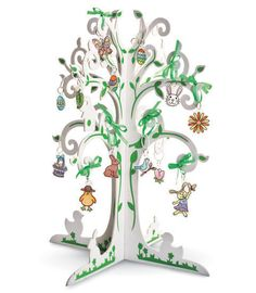 Fine motor/ language- charms to hang on tree (go along w poem or story)