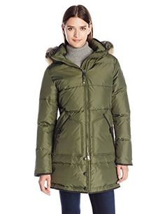 """Ladies long length coat       Famous Words of Inspiration...""""To do great things is difficult; but to command great things is more difficult.""""   Friedrich Nietzsche — Click here for more from Friedrich...  More details at https://jackets-lovers.bestselleroutlets.com/ladies-coats-jackets-vests/down-parkas/parkas/product-review-for-pajar-womens-cougar-long-down-parka-with-fur-hood/"""