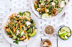 Spice up your midweek meal with this Indian potato salad. Full of crunch and fragrant spices, it's the ultimate healthy, speedy and veggie-friendly main.