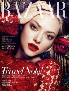 Harper's Bazaar Korea July 2013 Amanda Seyfried by Ahn Jooyoung
