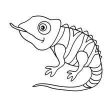 Tangled chameleon coloring pages coloring Pages