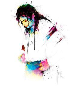 Michael Jackson. Por: Patrice Murciano