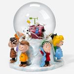 Charlie Brown Snow Globes