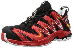 Salomon Herren XA Pro 3D Traillaufschuhe, Rot (Black/Radiant Red/Corona Yellow), 40 2/3 EU - http://on-line-kaufen.de/salomon/40-2-3-eu-salomon-xa-pro-3d-herren-traillaufschuhe-1-3