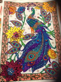 First Picture I Colored From Mehndi Design Book Creative Haven Dover Publications