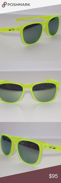 Oakley Sunglasses Trillbe X Matte Uranium Sunglass Oakley Sunglasses Trillbe X Matte Uranium w/Emerald #9340-07 New In Box. Condition is New with tags Oakley Accessories Sunglasses